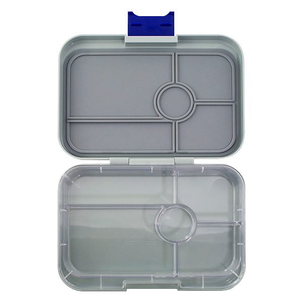 Yumbox Tapas 5 Compartment - Flat Iron Grey