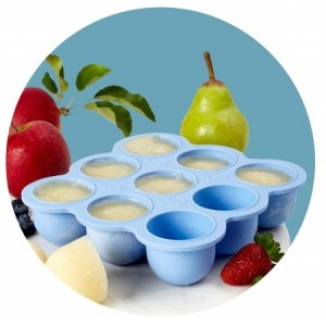 Wean Meister Freezer Pods - Baby Blue-Lunchbox Mini