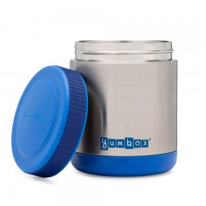 Zuppa Insulated Food Jar - Neptune Blue Inc Spoon