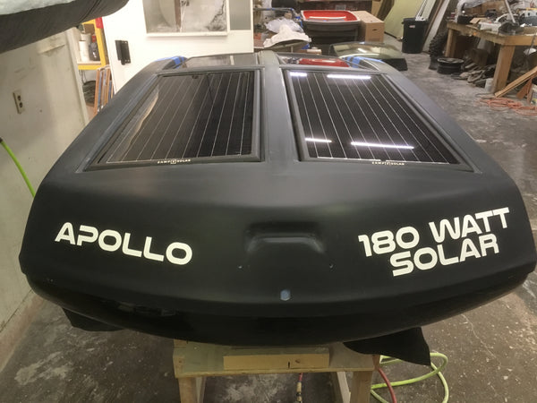 Rick Dancer excited about the solar embedded Apollo