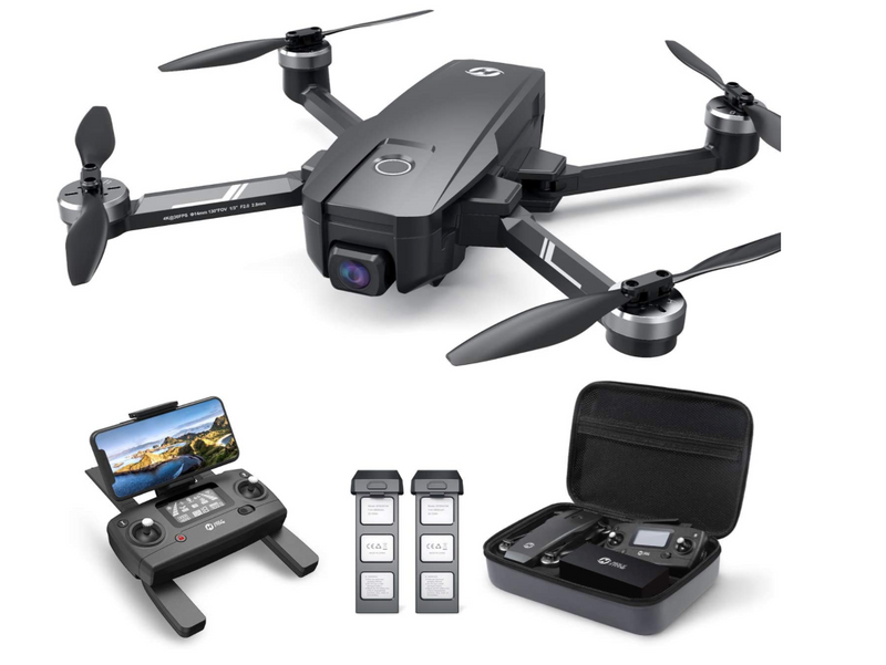 Drone with UHD Camera, GPS, Auto Return, Follow Me & Anti-shake Cam
