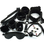 Sexy Lingerie Bondage Set Sexy Toy pubg SM Product Toys Hand Cuffs Footcuff Whip Rope Blindfold Sex Toys For Couple