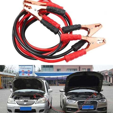 4M 500/2000 AMP Emergency Power Start Cable Quality Booster Jumper Cable Heavy Duty Car Battery Jumper Booster Line Copper Wire