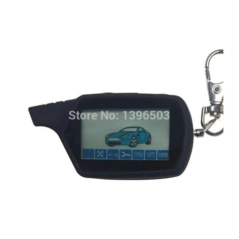 Top Quality A91 LCD Remote Control Key Chain For Russian Keychain Starline A91 Engine Starter Car Anti-theft Alarm System