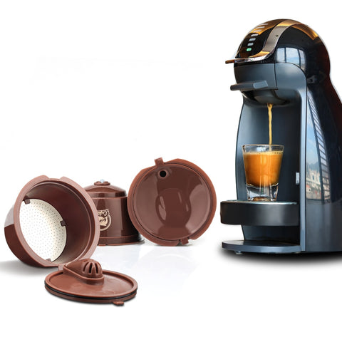 Crema Version 3rd Generation For Dolce Gusto Coffee Capsule Filters Cup Refillable Reusable Coffee Dripper Tea Baskets