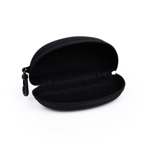Neweekend New Glasses Case EVA Zipper Case Explosion Model Fashion Black Hook Sunglasses Case Compression Sunglasses Box For 071