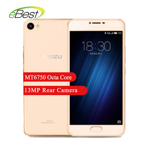 MEIZU U10 Smartphone Capacity 16/32GB  MT6750  Octa-core 13MP rear camera 5.0 Display Size 2 SIM Cards Cellphone