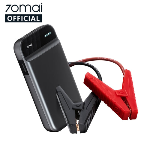 70mai Jump Starter 70mai car jump starter Battery Power Bank Real 11000mah Car Starter Auto Buster Car Emergency Booster Battery