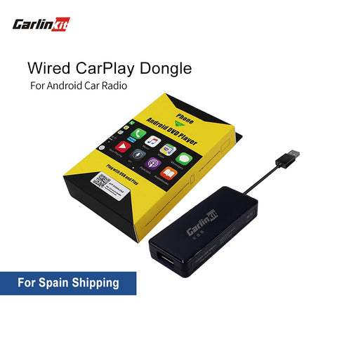 Carlinkit Apple CarPlay /Android Auto Carplay Dongle for Android System Screen Smart link Support Mirror-link IOS 13 Carplay