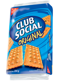 Galleta Club Social 24 bags(9x26g)