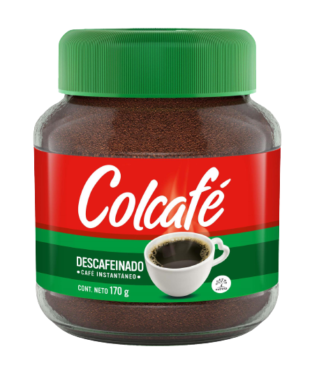 Colcafe Decaffeinated Instant Coffee 12x50g