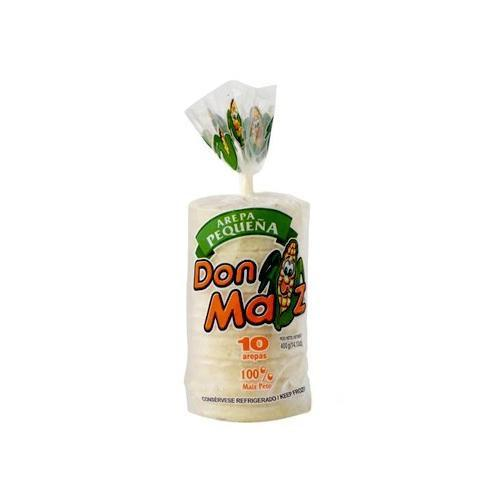 Don Maiz Small Arepa (800g pack = 10 units) - Chatica