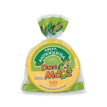 Don Maiz YELLOW AREPA 7 x 12 un x 1200g