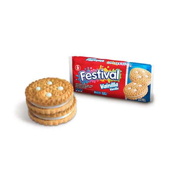 Noel Festival Vanilla Biscuits (415g pack = 12 units) - Chatica