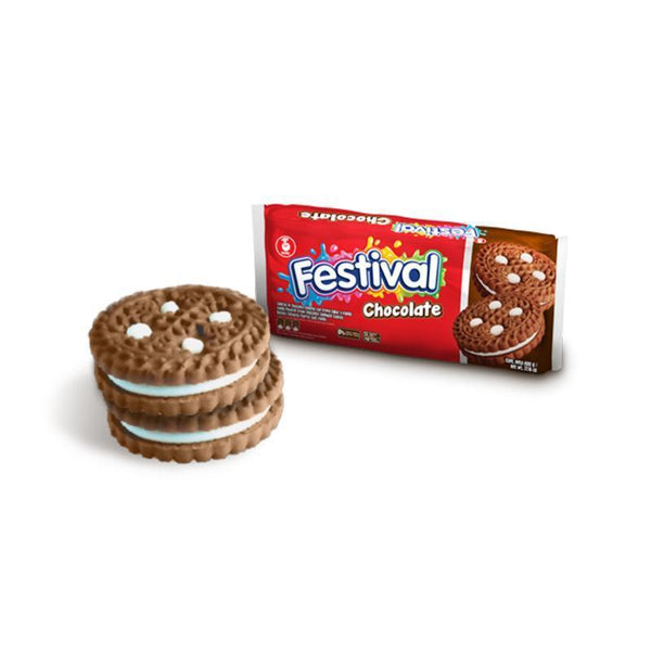 Noel Festival Chocolate Biscuits (415g pack = 12 units) - Chatica