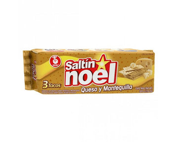 Noel Saltin crackers Queso Mantequilla 385g pack