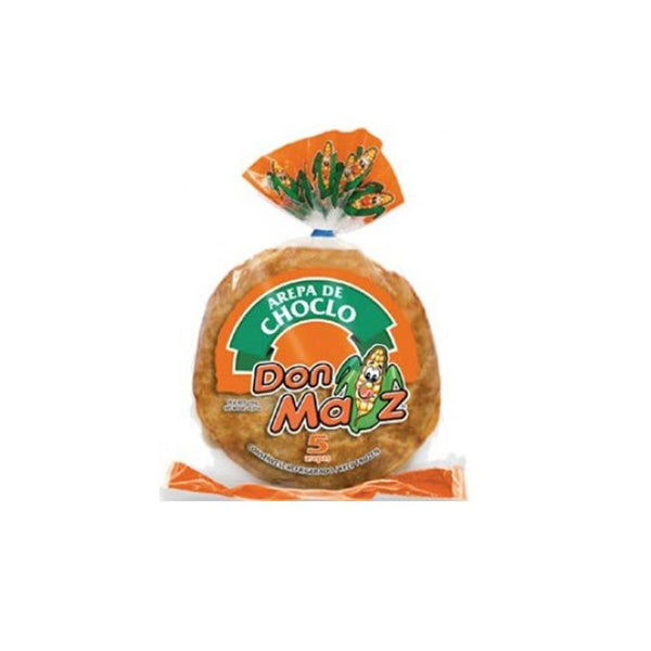 Don Maiz Choclo Arepa (450g pack = 5 units) - Chatica