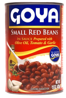Goya Canned Red Beans 12X425g
