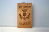 Solid Oak Hand Made Door Stop