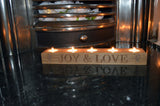 Christmas Personalised Tea Light Holders