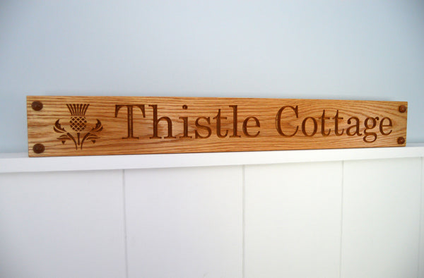 House Sign with Image (501mm up to 1000mm)