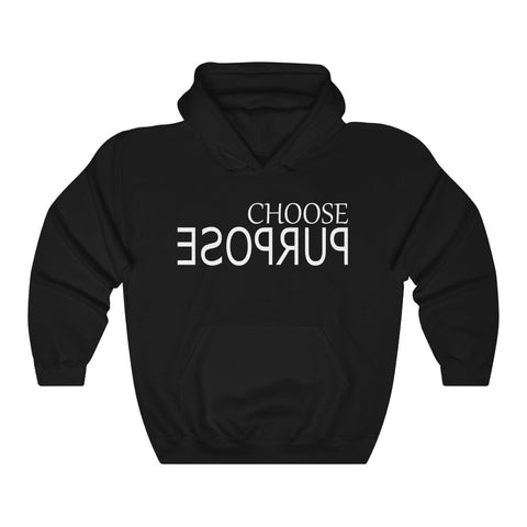 CHOOSE PURPOSE Unisex Heavy Blend™ Hooded Sweatshirt