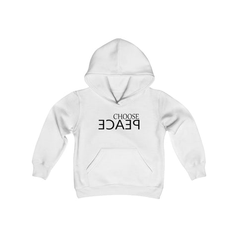 CHOOSE PEACE Youth Heavy Blend Hooded Sweatshirt