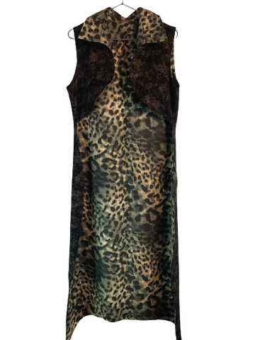 Cheetah Boss Slim Suit Cape