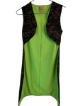Kids Snakeskin Green Suit Cape