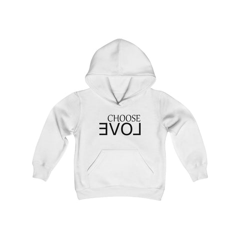 CHOOSE LOVE Youth Heavy Blend Hooded Sweatshirt