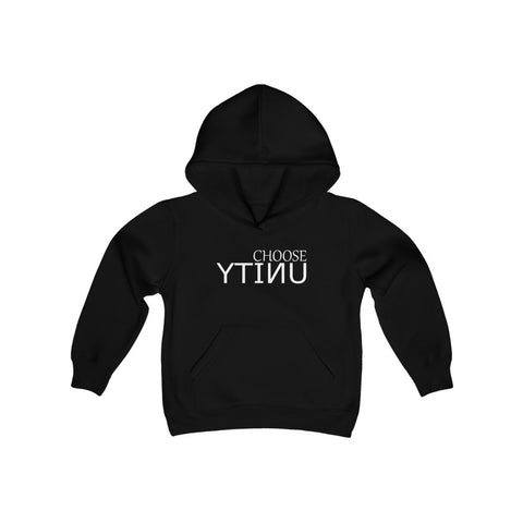 CHOOSE UNITY Youth Heavy Blend Hooded Sweatshirt