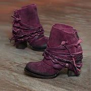 Women's Casual Zipper Booties
