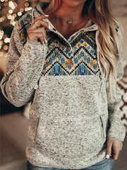 Long Sleeve Casual Sweatshirt