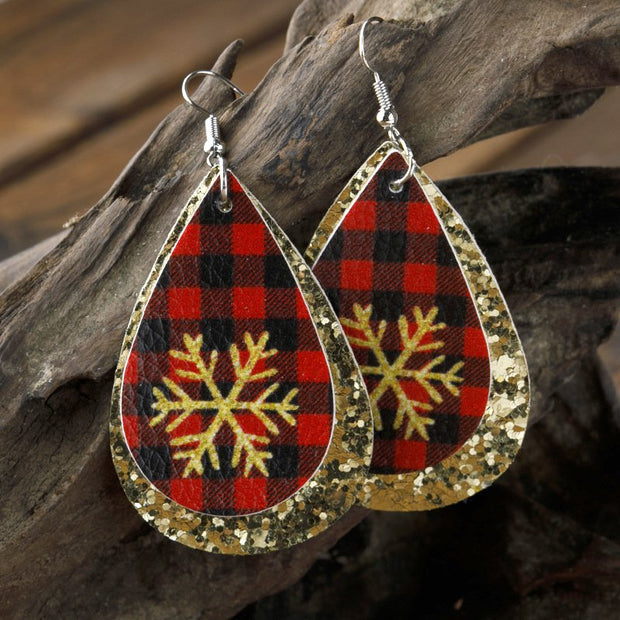 Pu Earrings