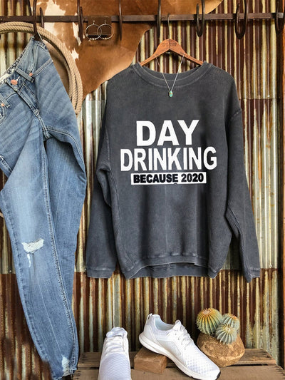 Letter Cotton-Blend Long Sleeve Casual Sweatshirt