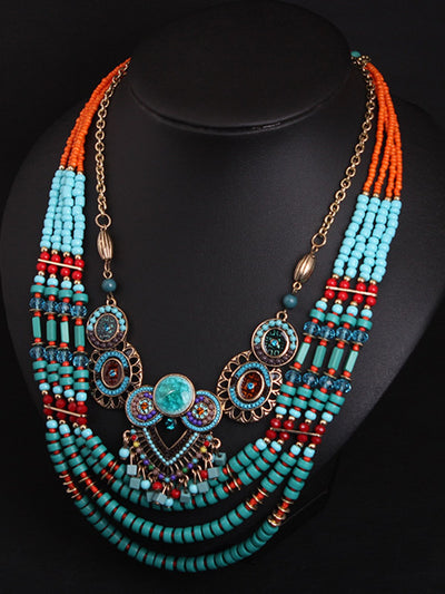 Women  Alloy Vintage Necklaces