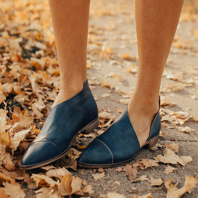 Women PU Sandals Simple Comfort Pointed Toe Shoes