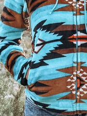 Tribal Shift Printed Outerwear