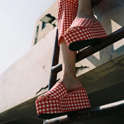 GLIMPSE Red Gingham