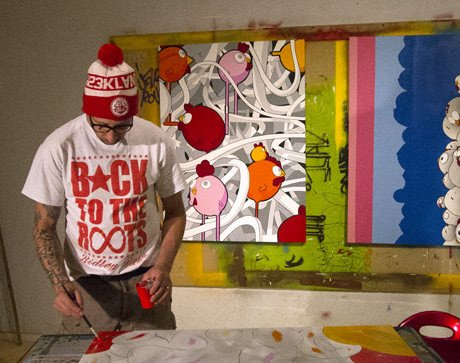 Interview: The World Through The Eyes Of A Street Artist Fouad Ceet