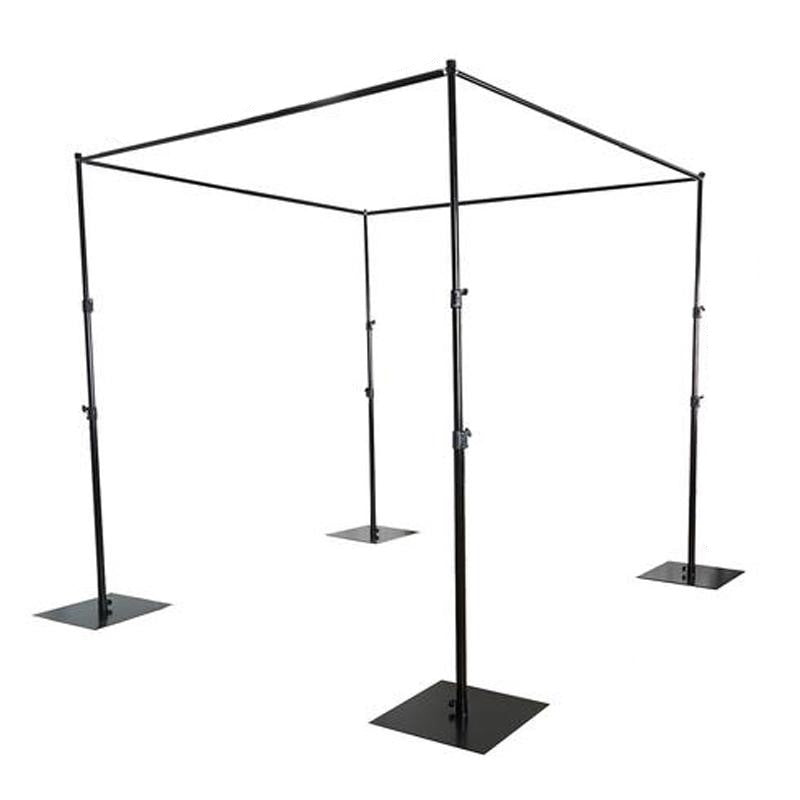4 Post - 10FT x 10 FT Metal Canopy Backdrop Stand