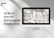 Load image into Gallery viewer, Neutral Real Estate Kit - Modern Templates, Instagram Template, Real Estate Door Hang Tag, Real Estate Flyer, Realtor Brochure, Post Card