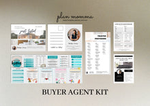 Load image into Gallery viewer, Buyer Agent Kit - Real Estate Email Template, Realtor Postcard, Home Buyer Guide, Real Estate Flyer, Home Buyer Questionnaire, Canva