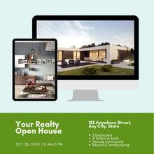 Load image into Gallery viewer, 10 Editable Real Estate Templates for Instagram - Editable Realtor Agent Branding Posts, Modern Real Estate Design, Instagram Templates