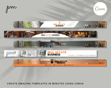 Load image into Gallery viewer, 35 MLS Banner Template - Banner Template, Banner for Realtors, Real Estate Banner, Website Banner, Advertisement Banner, Web banner, Canva