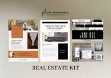 Load image into Gallery viewer, Real Estate Marketing Kit - Real Estate Email Newsletter Fall, Email Template, Custom Email Header, Real Estate Instagram Template, Canva