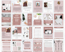 Load image into Gallery viewer, Social Media Kit for Coaches - 365 Social Media Content Planner, Lead Magnet Templates, Social Media Planner, Instagram Posts Templates