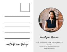 Load image into Gallery viewer, Real Estate Postcard - Instant Download | Agent postcard, realtor mailer, real estate agent marketing, real estate template canva, postcard