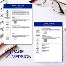 Load image into Gallery viewer, 3 Pack Resume Template word instant download - resume templates, CV Template, Cover Letter, Professional resume, Creative Resume cv