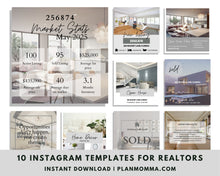 Load image into Gallery viewer, Realtor Agent Instagram Canva Template - Real Estate Editable Template, Social Media Post for Realtors, Realtor Agent Branding Post